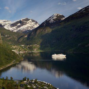 Konec fjordu Geiranger