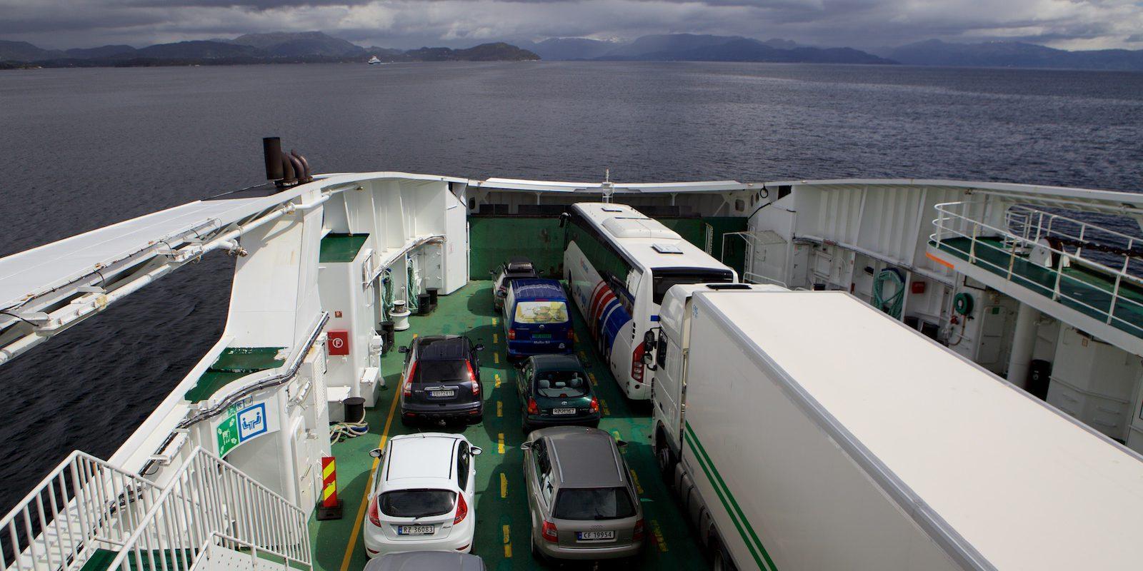 Trajekty v Norsku