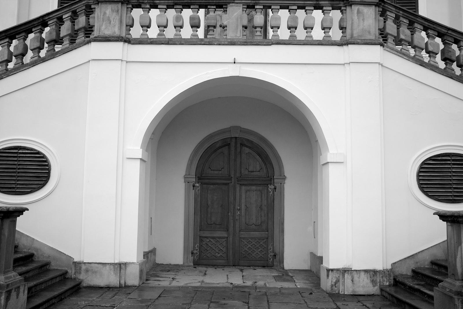 Ponurý zámek Milotice
